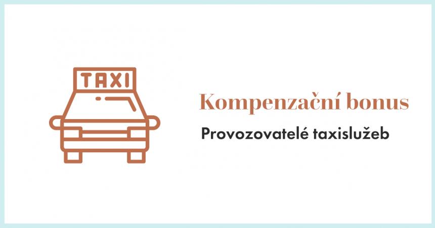 Kompenzační bonus pro provozovatele taxislužeb
