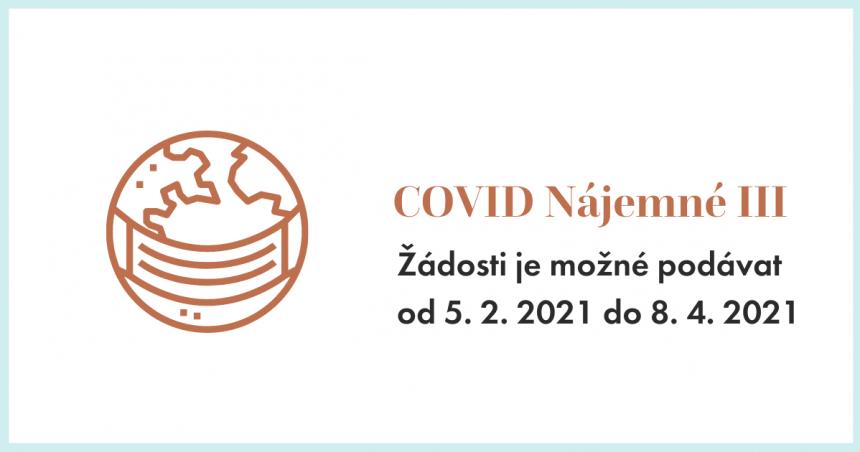 Spuštěn program COVID Nájemné III